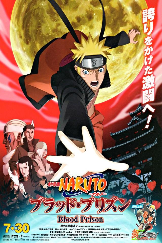 cover anime Gekijōban Naruto Shippūden: Buraddo Purizun