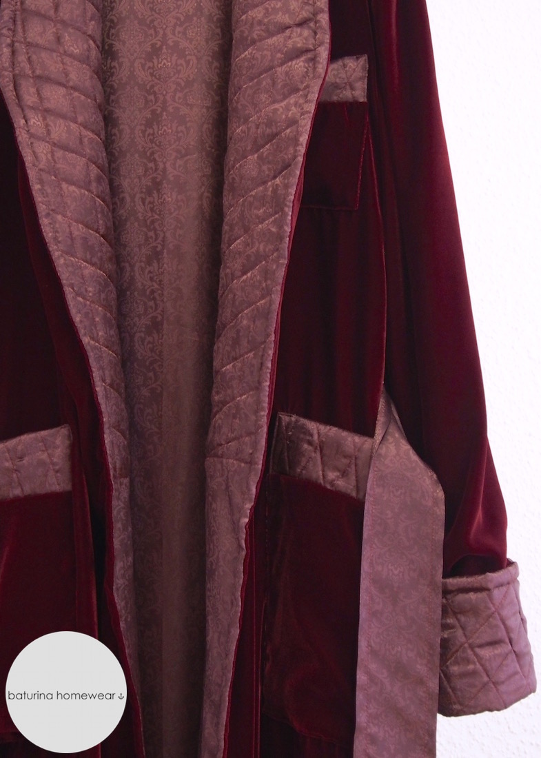 Enchanting Mens Quilted Dressing Gown Ensign - Images for wedding ...