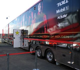 RACING TEAM OF HOLDEN TRUCK