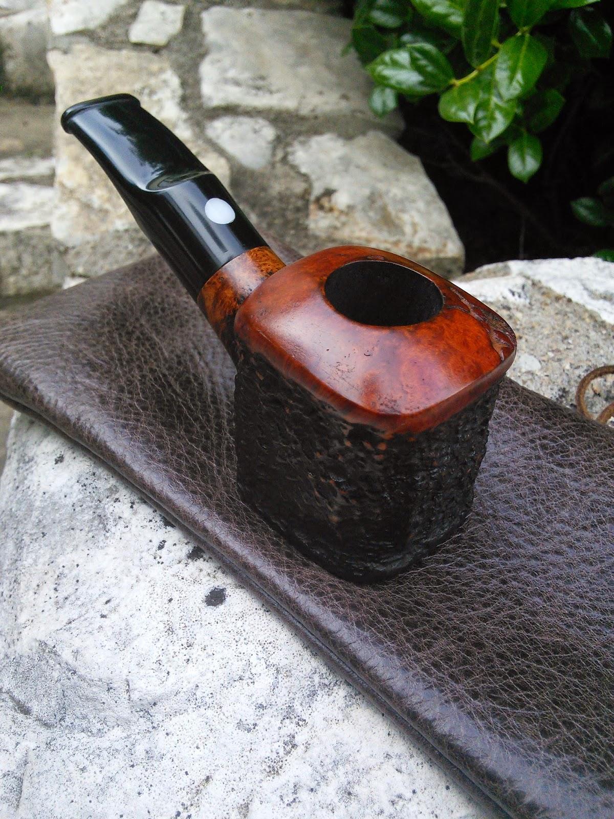 Rex Walden Pipes: Custom Briar Poker Tobacco Pipe by Rex ...