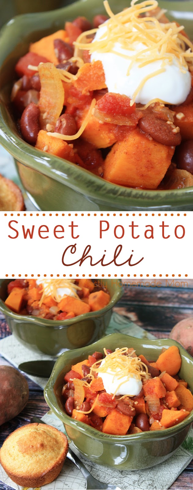 Recipe for Vegetarian Chili with Sweet Potatoes