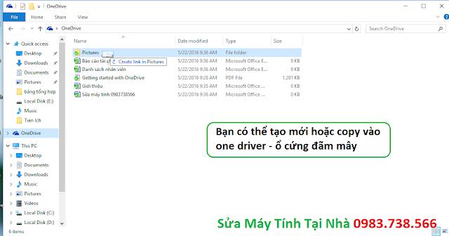 Hướng dẫn OneDrive - H06