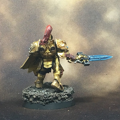 WIP Adeptus Custodes or Custodian Guard squad member 2 gallery shot back