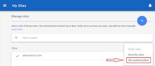 Cara mudah Authorization Situs Di Google Adsense