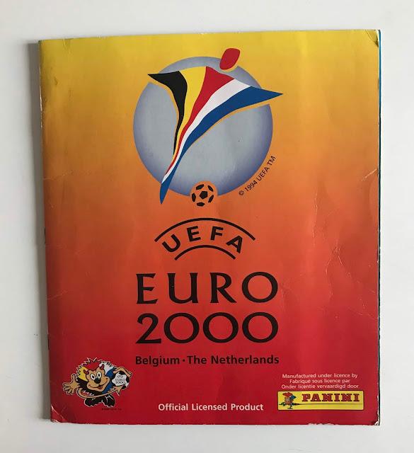 Album Panini Euro 2000