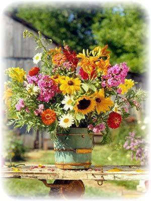 matrimonio ecologico fiori finti