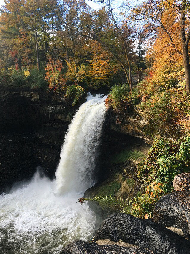 Minnehaha falls (Minneapolis, MN)