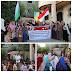 Subhanallah, Masyarakat Gaza Palestina turt meMeriahkan Dirgahayu RI ke 70