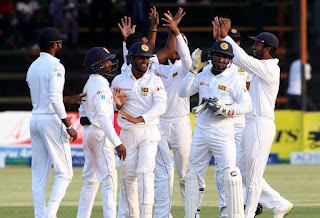 Sri Lanka win 1st test by 225 runs