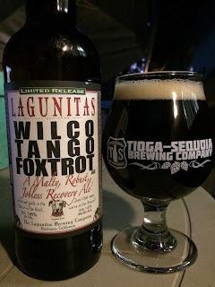 Lagunitas Wilco Tango Foxtrot Brown Ale 1