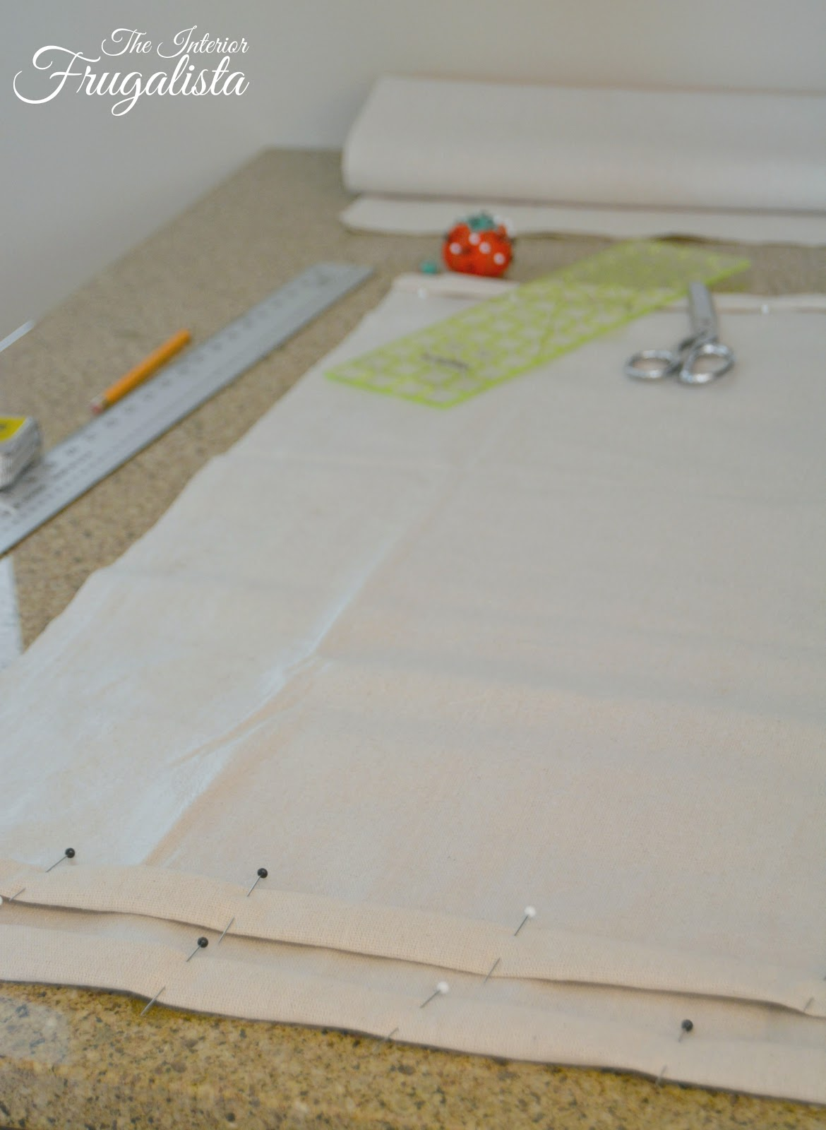 How to sew an envelope style pillow cover