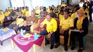 M Rudi Masih Pimpin Partai Golkar Di RKT