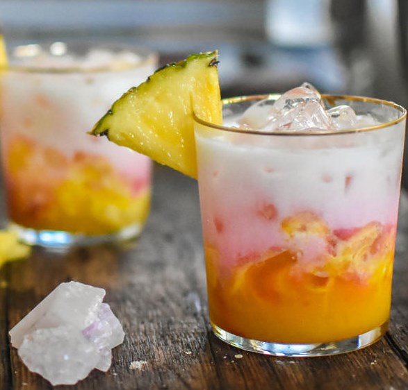 Colada Sunrise #drink #cocktail