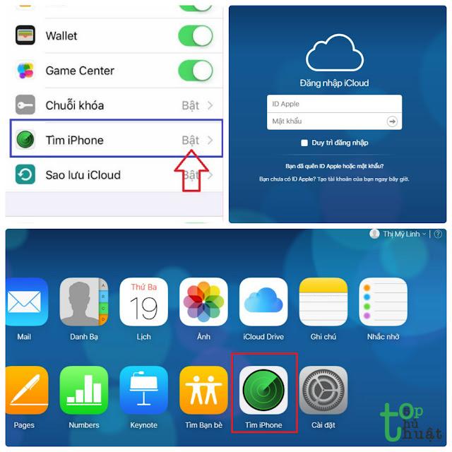 Thủ thuật khóa thiết bị iPhone, iPad, Mac từ xa khi bị mất máy