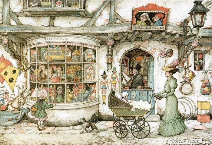 11-Anton-Franciscus Pieck-1895-to-1987-a-life-of-Illustrations-and-Paintings-www-designstack-co