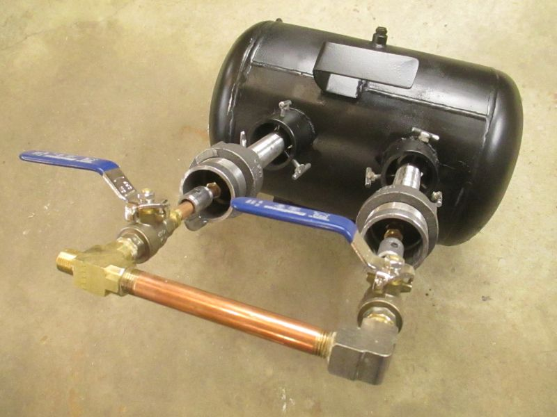 Diy Knifemaker S Info Center Gas Forge Build 5 Intial Burn
