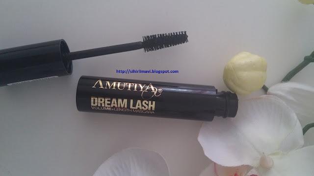 amutiya, dream lash, maskara, rimel, blog, blogger, urun yorumu, ürün yorumu
