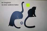 Vergleich andere Katze: ARTORI Design AD273B - Louis' Paw - Black Metal Cat Decorative Balance Hanger by Artori Design