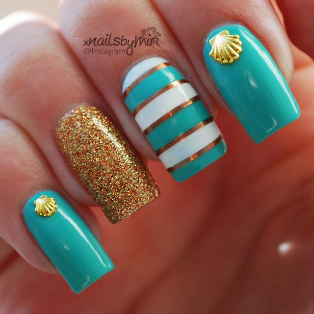 7 Tips For Ocean Chlorine Proofing Your Manicure Nail: Mermaid-Inspired Manicures, You'll Want To Dive In And Try
