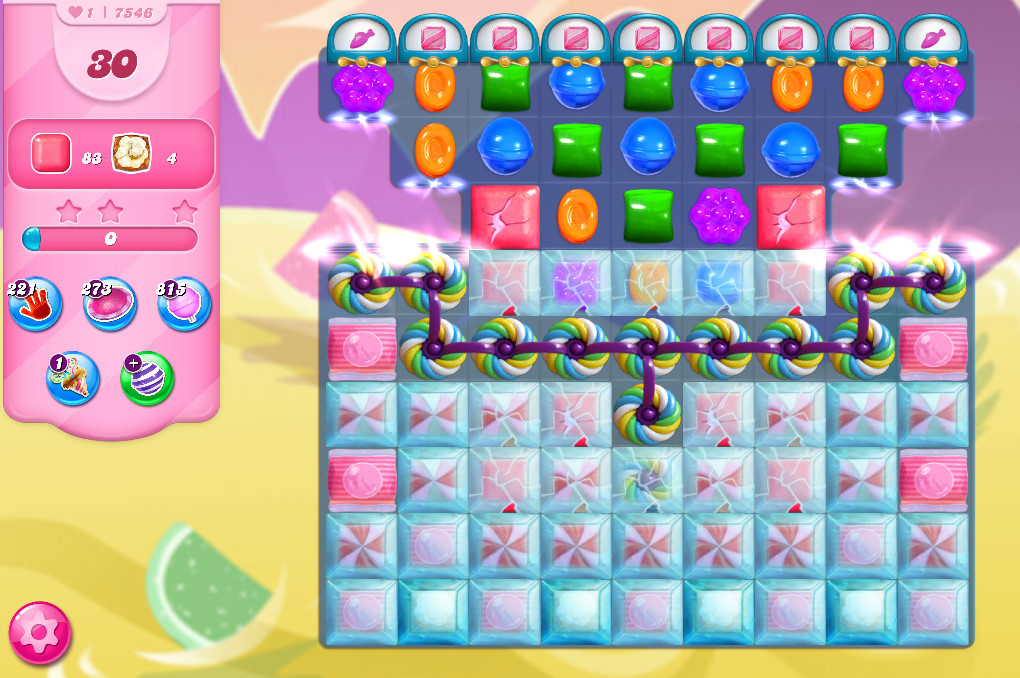Candy Crush Saga level 7546