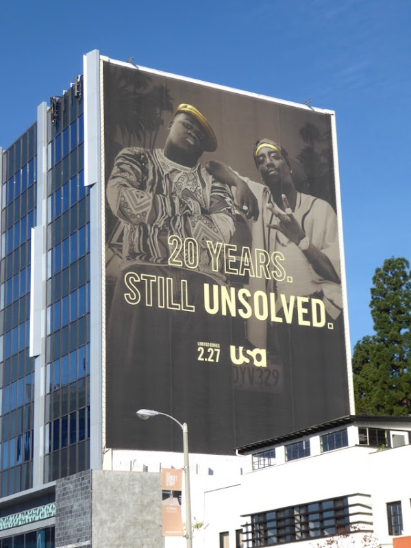 Giant 20 years Still Unsolved billboard