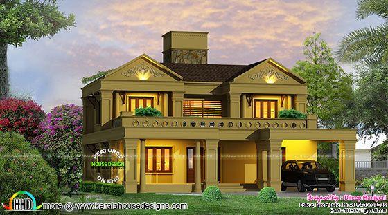 Mughal type home