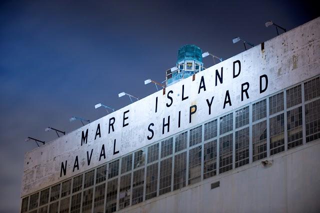 HISTORIC LANDMARK: Mare Island Naval Shipyard, Vallejo, CA, USA