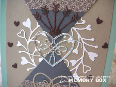masculine valentines contemporary card detail