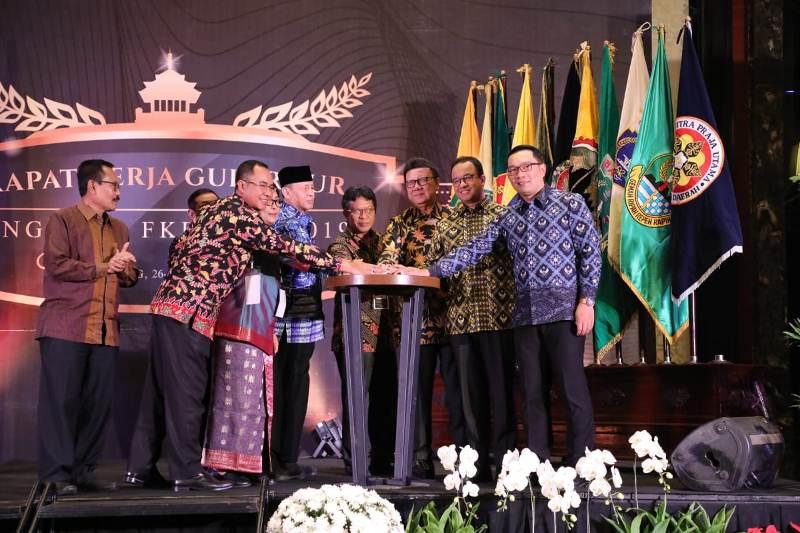 Arahan Presiden pada Rapat Kerja Gubernur Forum Kerjasama Daerah- Mitra Praja Utama (FKD-MPU)