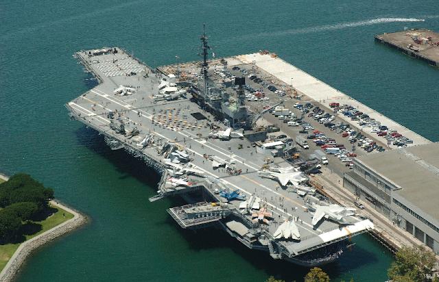USS Midway Museum em San Diego