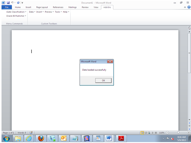 bi publisher data template example - get oracle apps steps to create rtf template in bi publisher