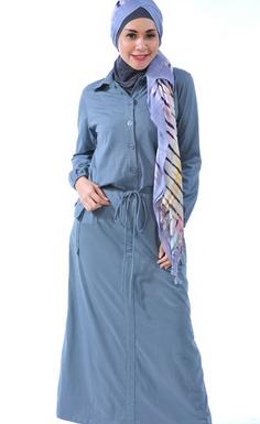 contoh baju gamis modern anak muda 2017