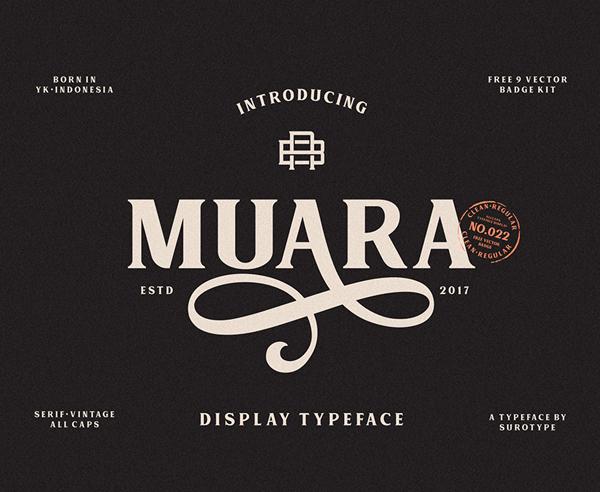 Download Font Terbaru 2018 - Muara Free Font