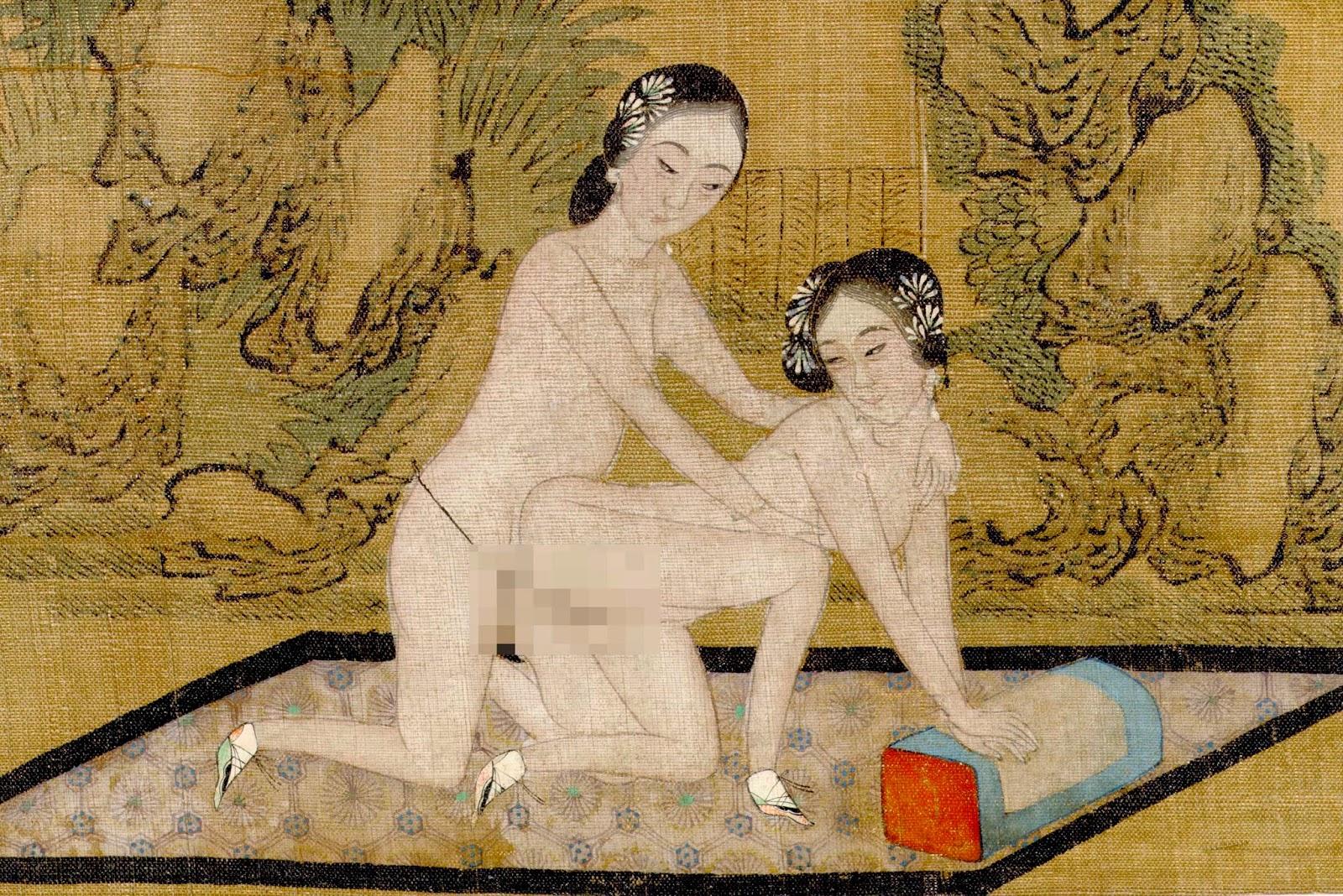 Male homosexuality in western art