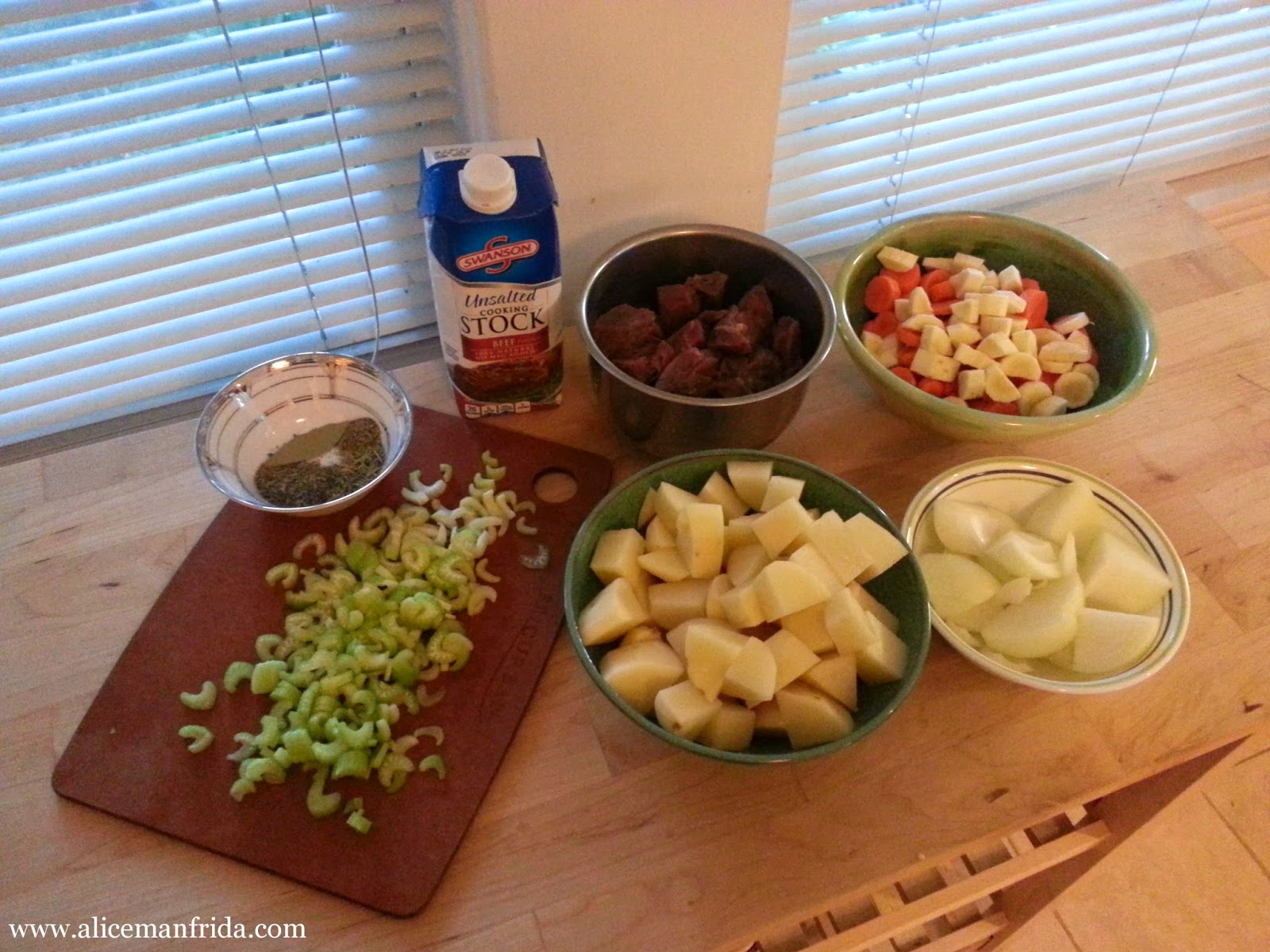 beef stew recipe, Alice Cooks, stew, soup, dinner, supper