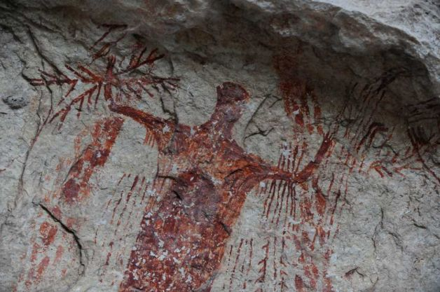 Ancient Artwork Offers A Puzzling Picture Of Past The