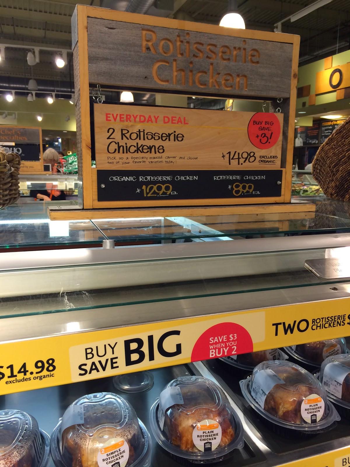 Whole Foods Rotisserie Chicken Ingredients