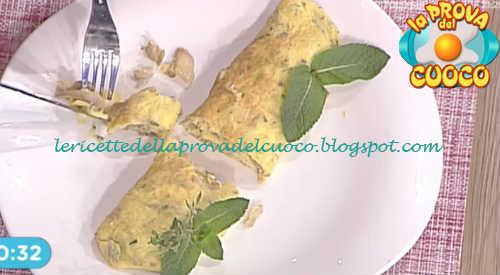 Prova del cuoco - Ingredienti e procedimento della ricetta Omelette con menta e funghi di Cristian Bertol