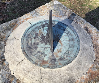 Sundial at Indian Steps Museum