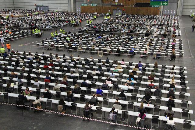 3.500 personas inician este sábado en BEC las pruebas para 250 plazas de la Ertzaintza