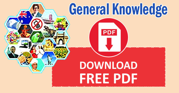 General Knowledge Questions PDF