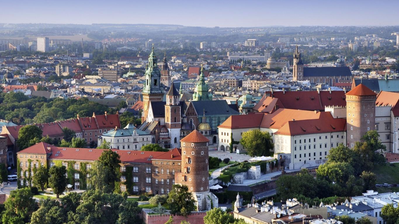 Resultado de imagem para Cracóvia, Polônia