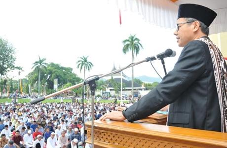 Irwan Prayitno: Mari Kita Latih dan Terapkan Jiwa Berkurban Menjadi Jati Diri
