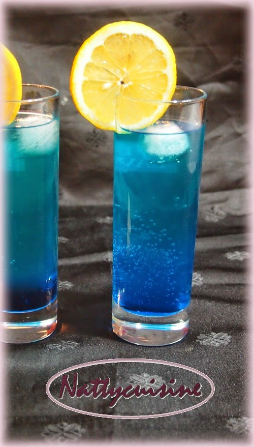 Connu Nattycuisine: Caribbean Lagoon Tonic (Cocktail) WY77