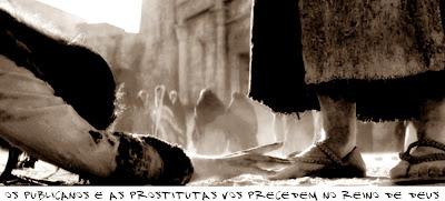 Resultado de imagem para jesus as prostitutas e os publicanos