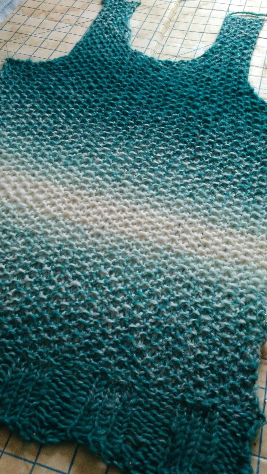 Seed Stitch Knitting By Judy : The Knitting Corner: Seed Stitch Sweater