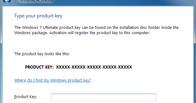 where to find product key windows 7 ultimate