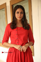 Actress Lavanya Tripathi Latest Pos in Red Dress at Radha Movie Success Meet .COM 0271.JPG
