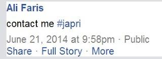 Apa Arti Istilah Japri?