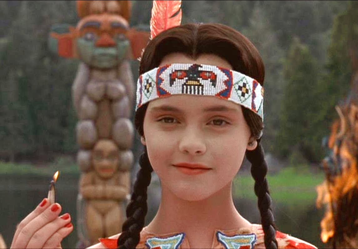 Believe In Love: November 2011Wednesday Addams Indian